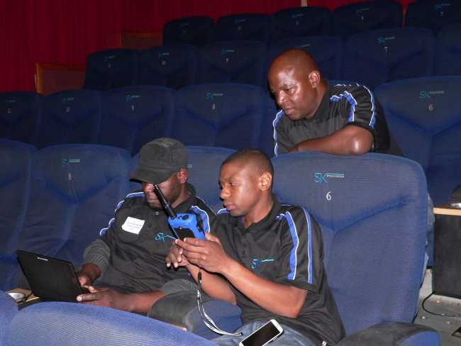 NTi Audio keeps Ster-Kinekor ahead of the curve