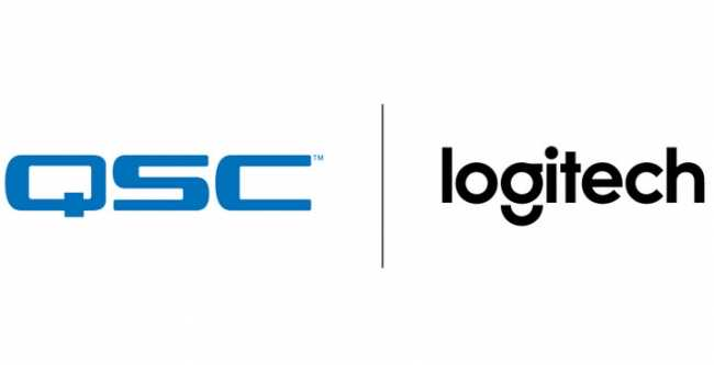 QSC collaborates with Logitech