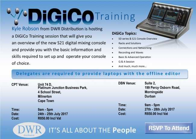 S21 training in Cape Town and Durban